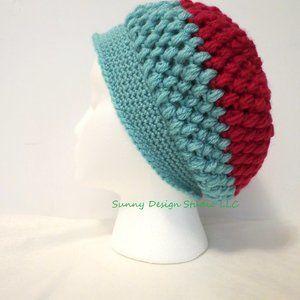 Handmade Crochet Hat / custom design (one only)